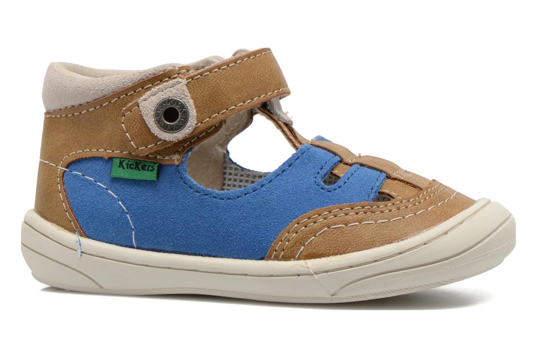 Sandalen Kickers Zelou beige ansicht von hinten