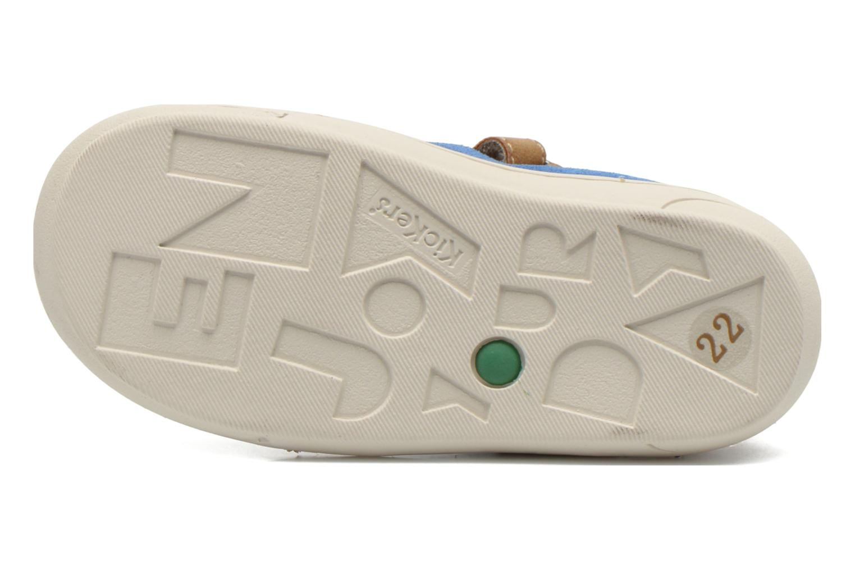 Sandales et nu-pieds Kickers Zelou Beige vue haut