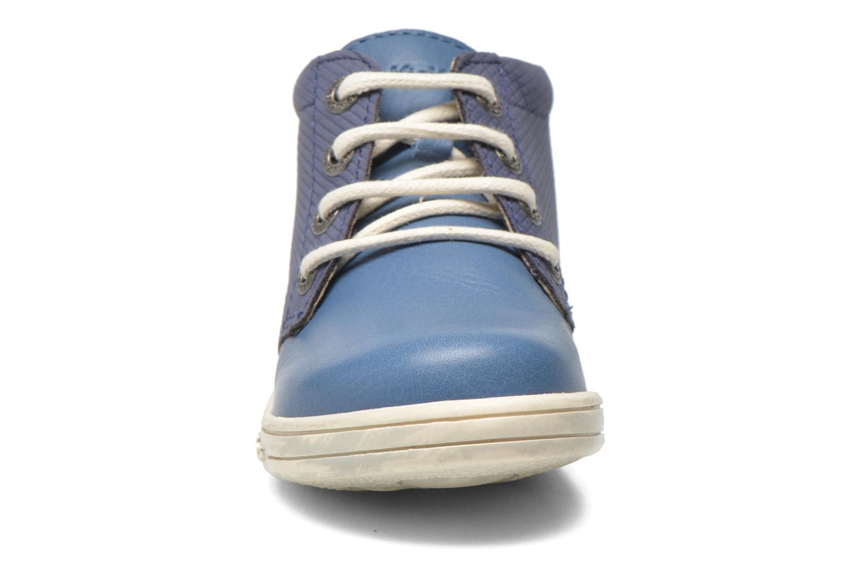 Veterschoenen Kickers Tradi T Blauw model