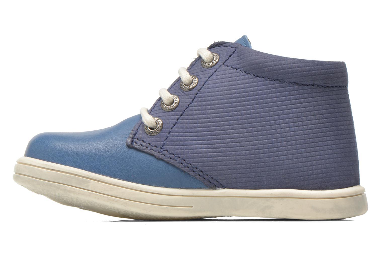 Chaussures à lacets Kickers Tradi T Bleu vue face