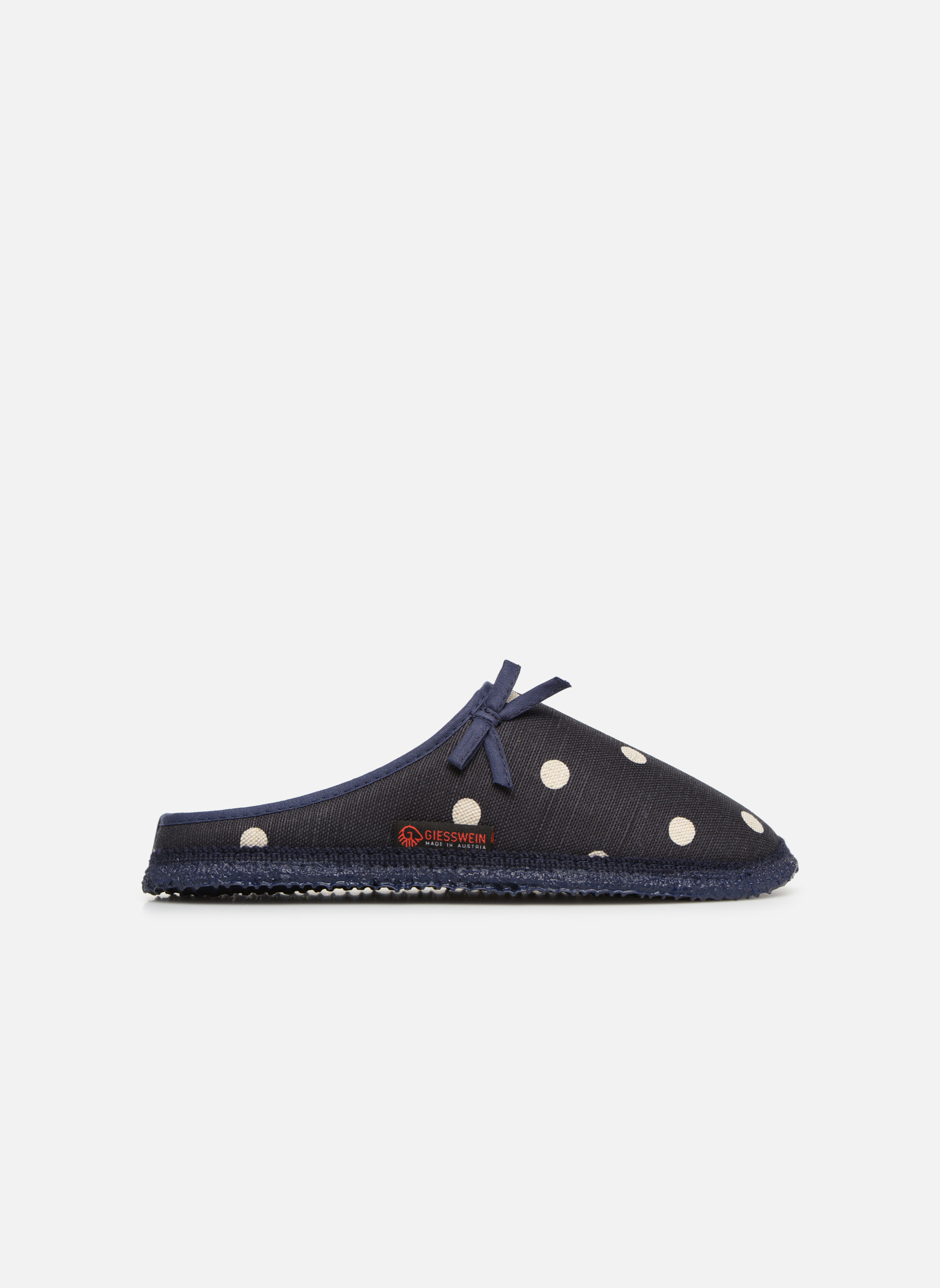 Pantofole Giesswein Plein Azzurro immagine posteriore