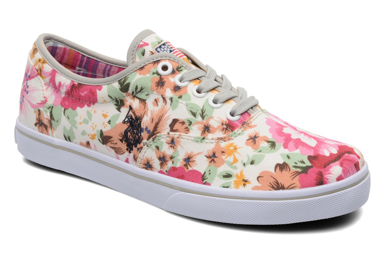 Baskets U.S Polo Assn. Dottie Flowers Multicolore vue détail/paire