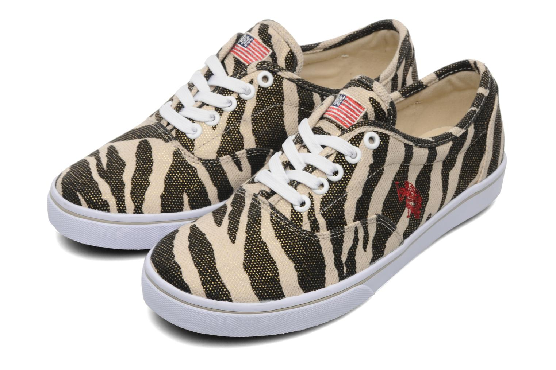 Dottie Zebra Cream/black