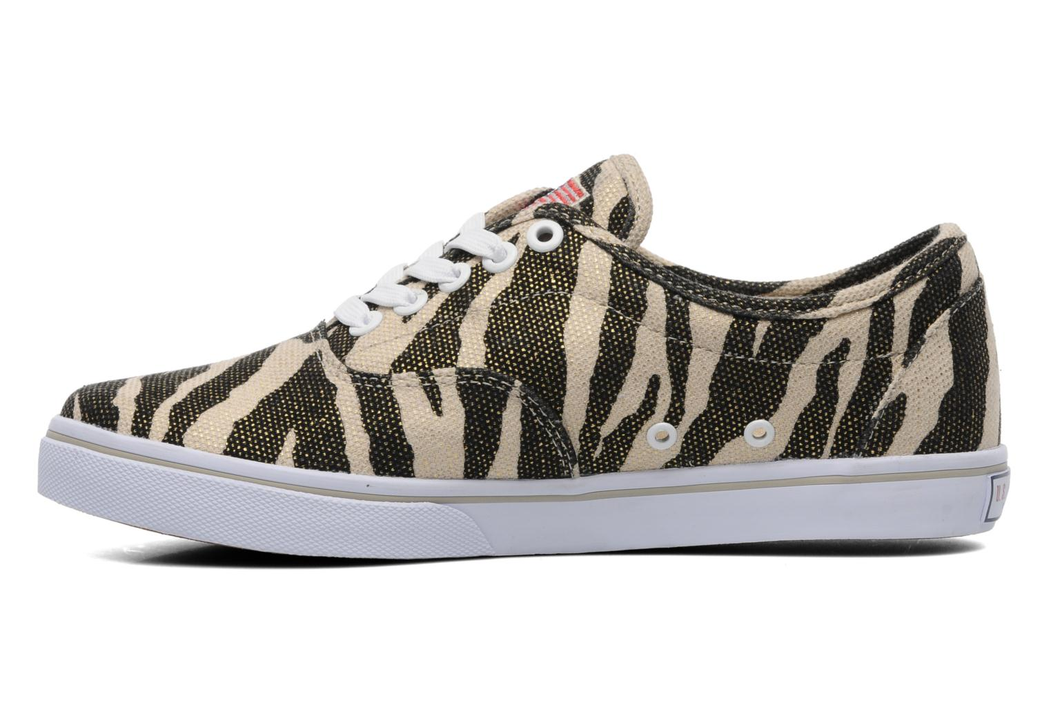 Dottie Zebra Cream/black