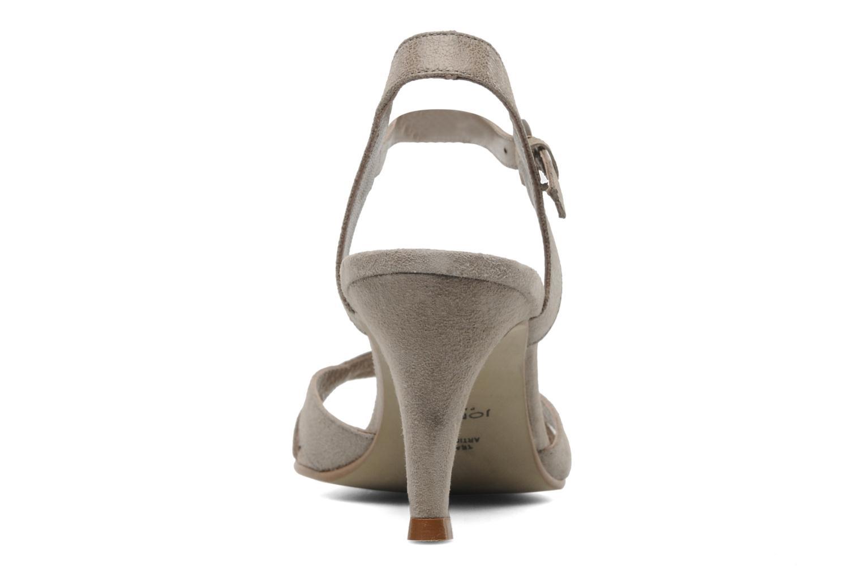 Sandales et nu-pieds Jonak Nigaf Beige vue droite