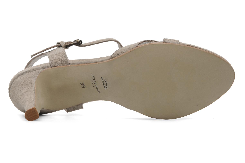 Sandales et nu-pieds Jonak Nigaf Beige vue haut