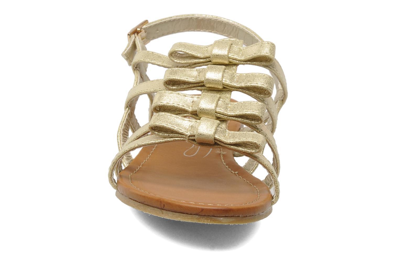 Sandales et nu-pieds Xti Odilia Or et bronze vue portées chaussures