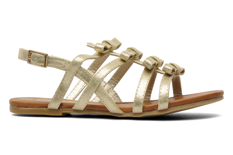 Sandales et nu-pieds Xti Odilia Or et bronze vue derrière