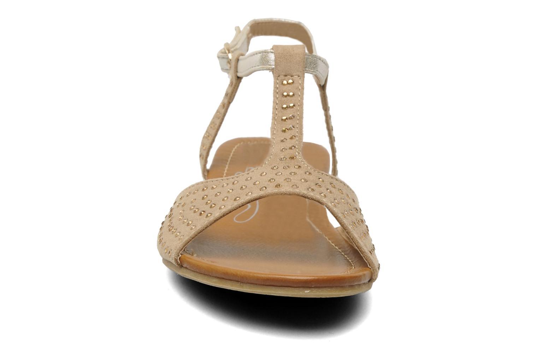 Sandalen Xti Orlande beige schuhe getragen