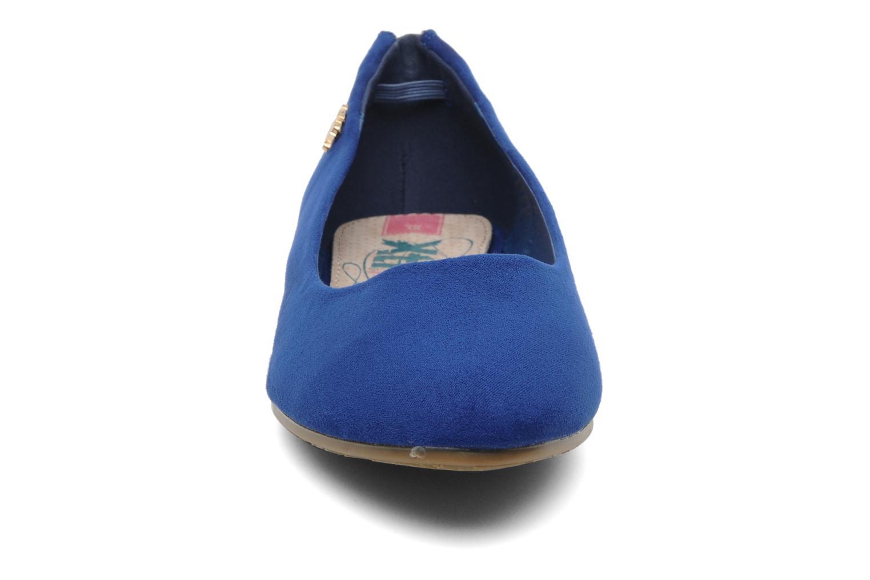 Ballerinas Xti Amanda blau schuhe getragen