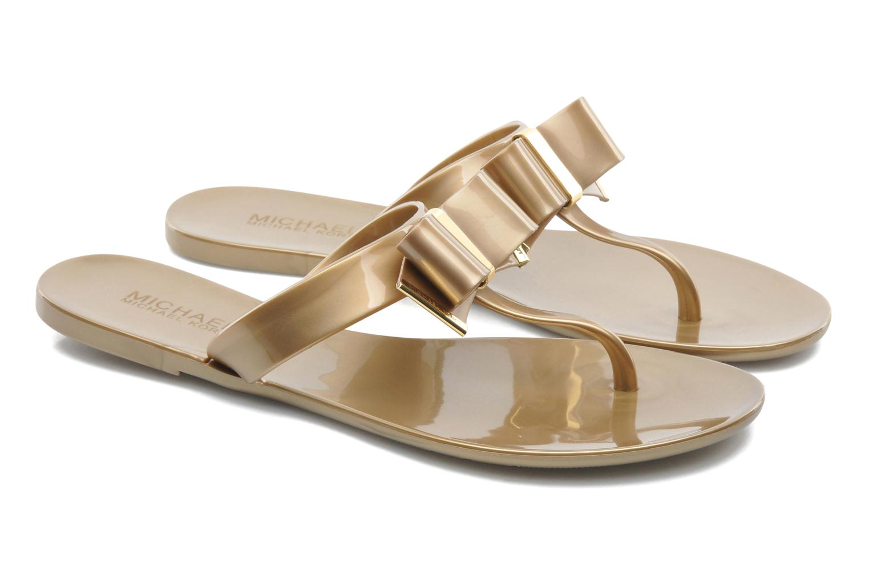Zehensandalen Michael Michael Kors Kayden Jelly gold/bronze 3 von 4 ansichten