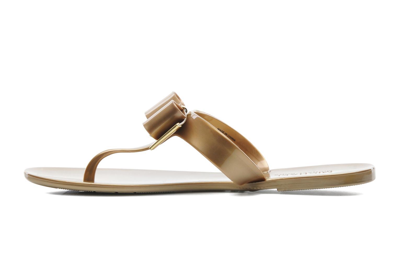 Flip flops Michael Michael Kors Kayden Jelly Bronze and Gold front view