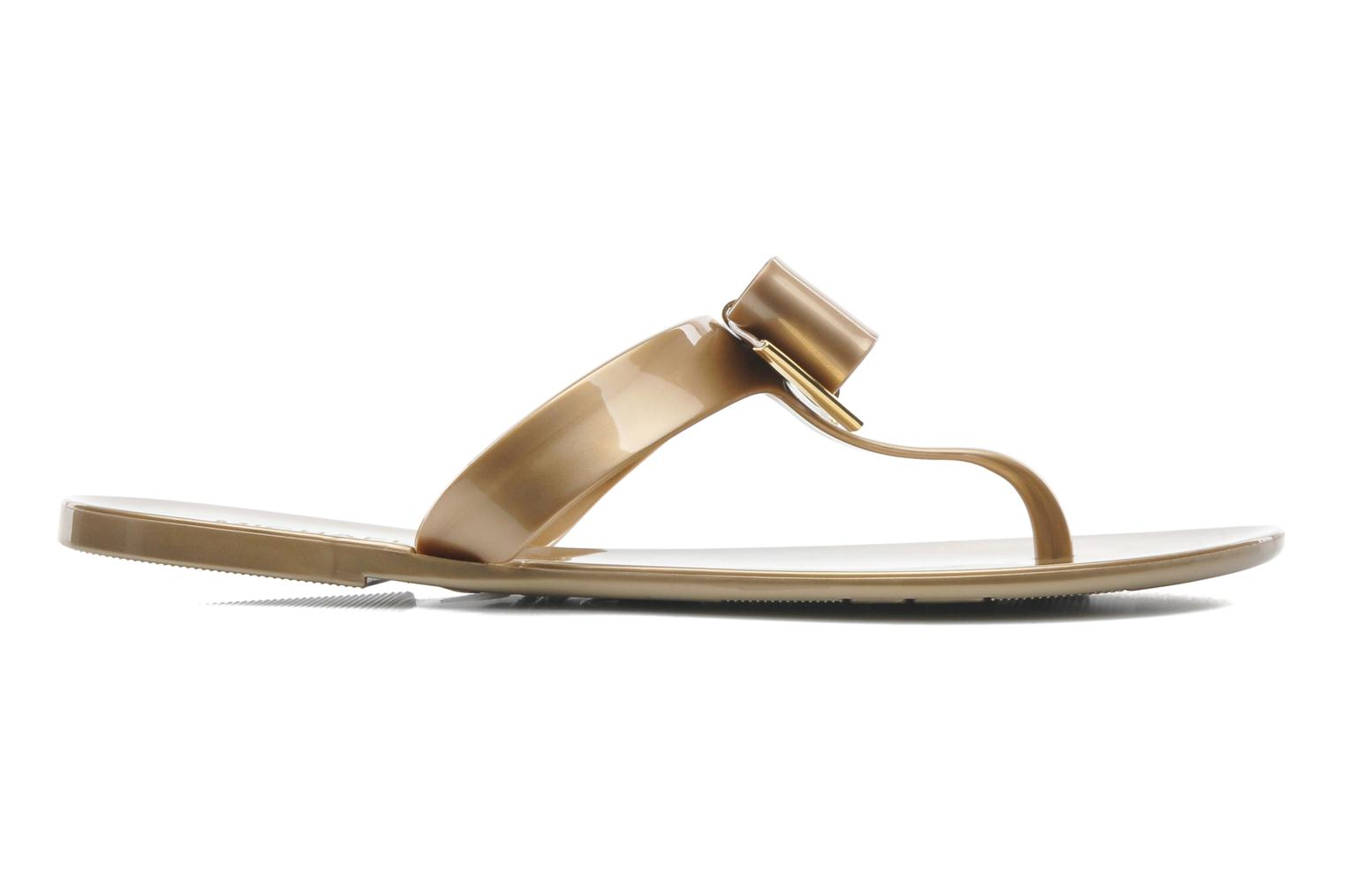 Tongs Michael Michael Kors Kayden Jelly Or et bronze vue derrière