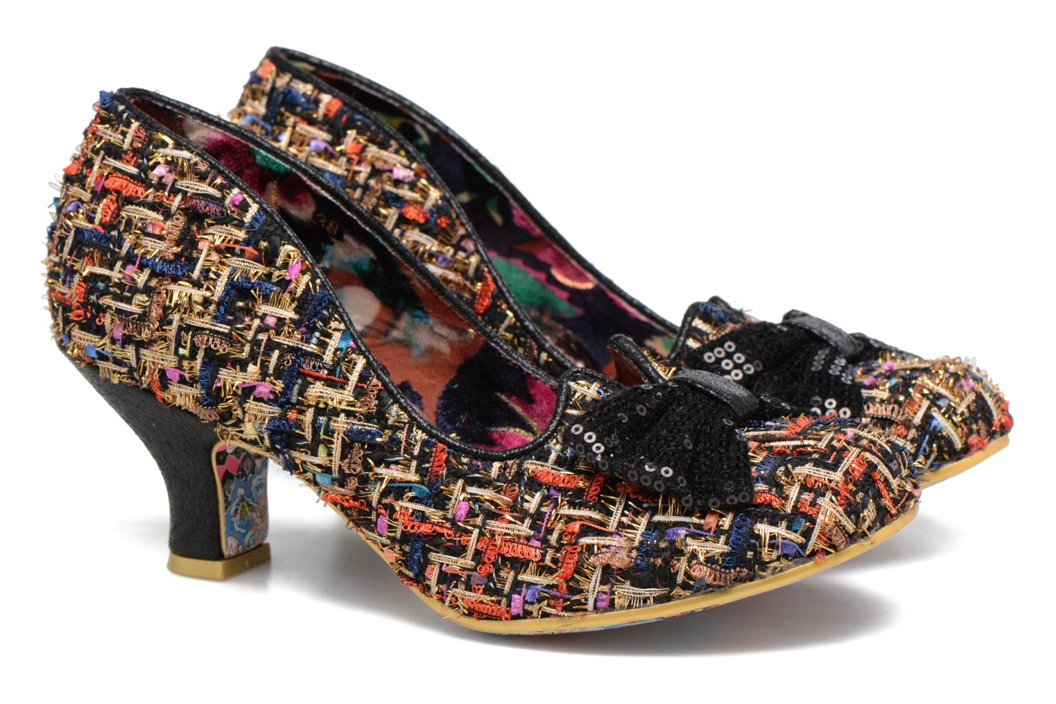 Pumps Irregular Choice Dazzle Razzle Svart 3/4 bild