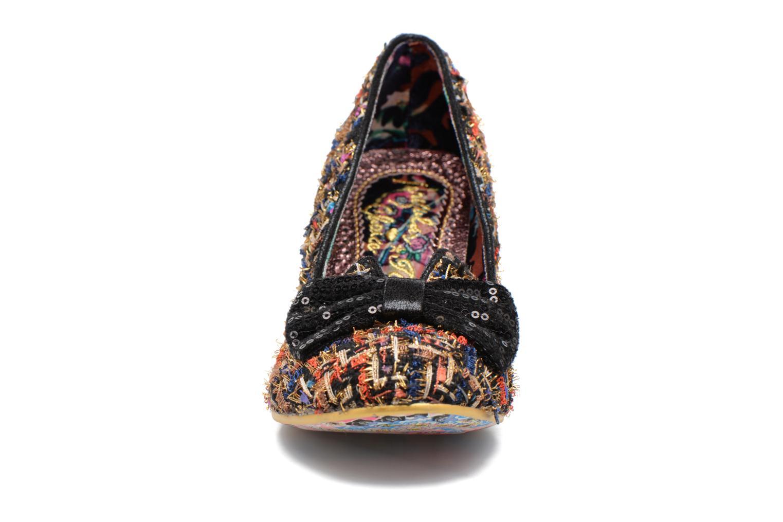 Høje hæle Irregular Choice Dazzle Razzle Sort se skoene på