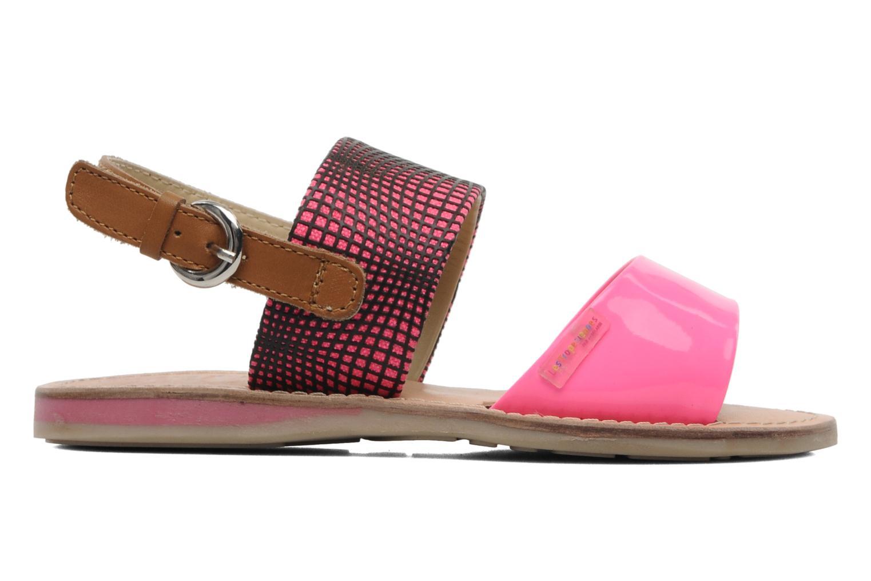 Sandalen Les Tropéziennes par M Belarbi Mini E Roze achterkant