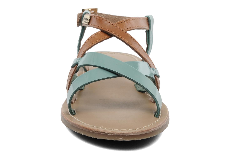 Sandales et nu-pieds Les Tropéziennes par M Belarbi Yogi E Bleu vue portées chaussures