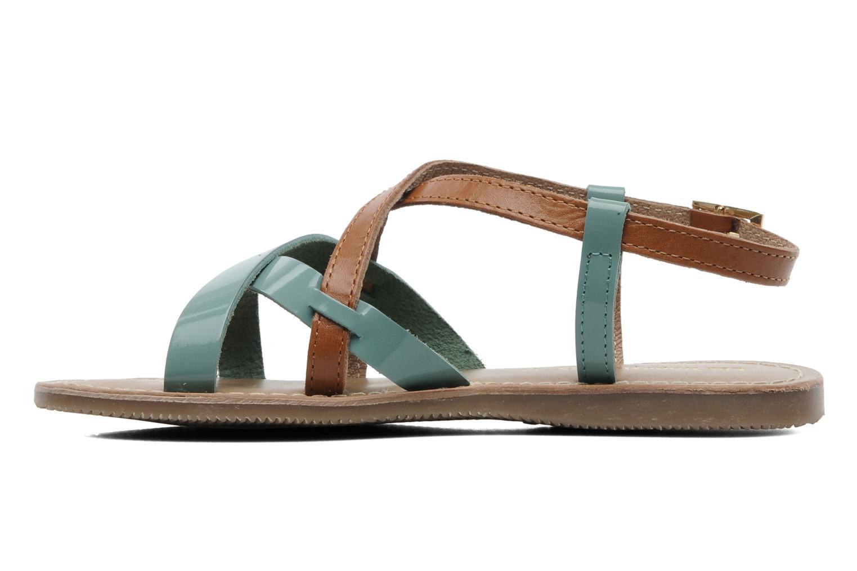 Sandales et nu-pieds Les Tropéziennes par M Belarbi Yogi E Bleu vue face