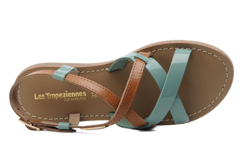 Sandales et nu-pieds Les Tropéziennes par M Belarbi Yogi E Bleu vue gauche