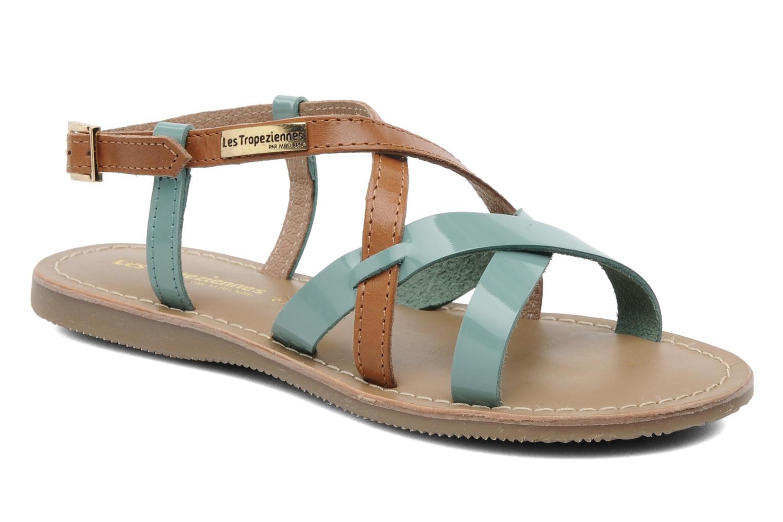 Sandales et nu-pieds Les Tropéziennes par M Belarbi Yogi E Bleu vue détail/paire
