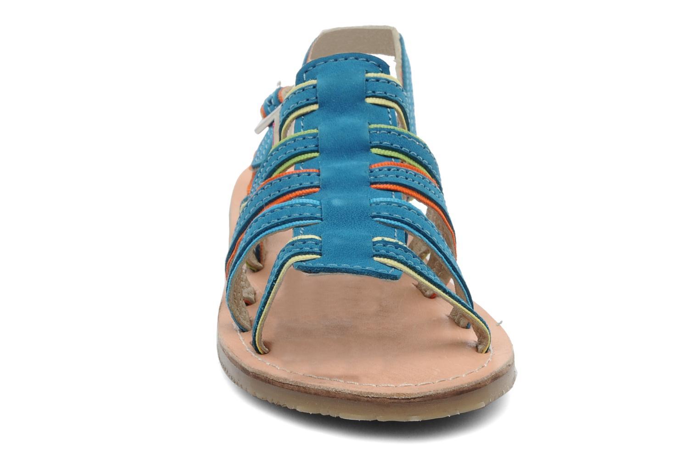 Sandalen Les Tropéziennes par M Belarbi Miss E blau schuhe getragen