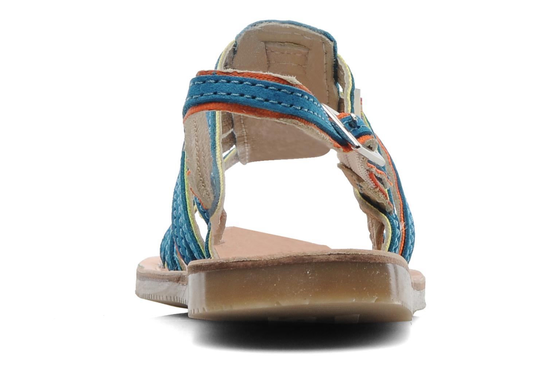 Sandalen Les Tropéziennes par M Belarbi Miss E blau ansicht von rechts