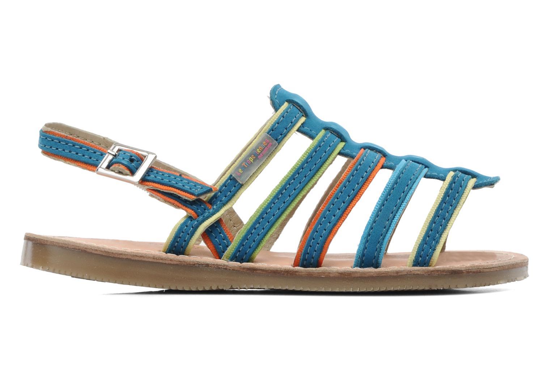 Sandalen Les Tropéziennes par M Belarbi Miss E blau ansicht von hinten