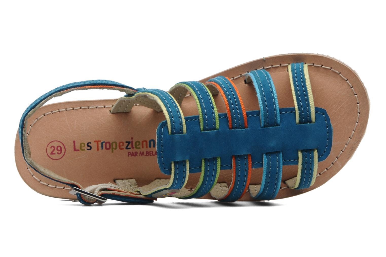 Sandalen Les Tropéziennes par M Belarbi Miss E blau ansicht von links