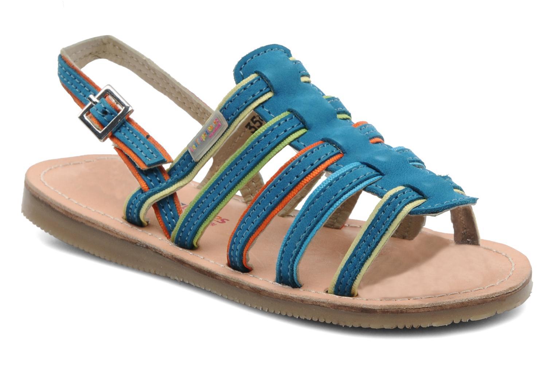 Sandalen Les Tropéziennes par M Belarbi Miss E blau detaillierte ansicht/modell