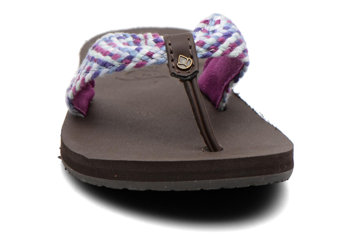 Slippers Reef Mallory Scrunch Paars model