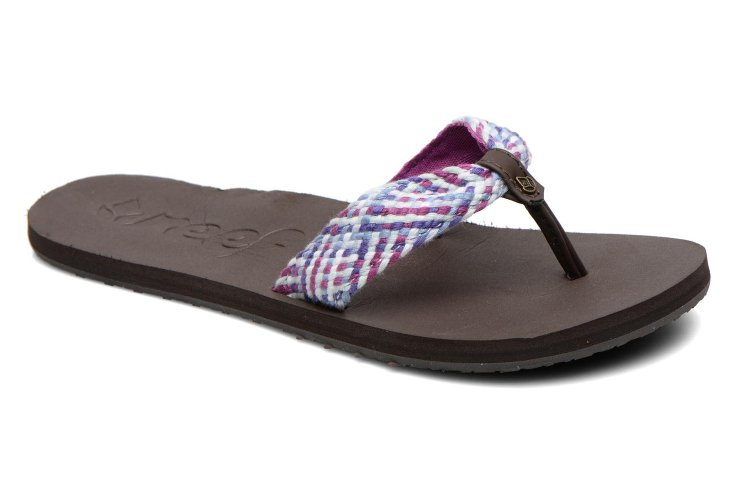 Slippers Reef Mallory Scrunch Paars detail