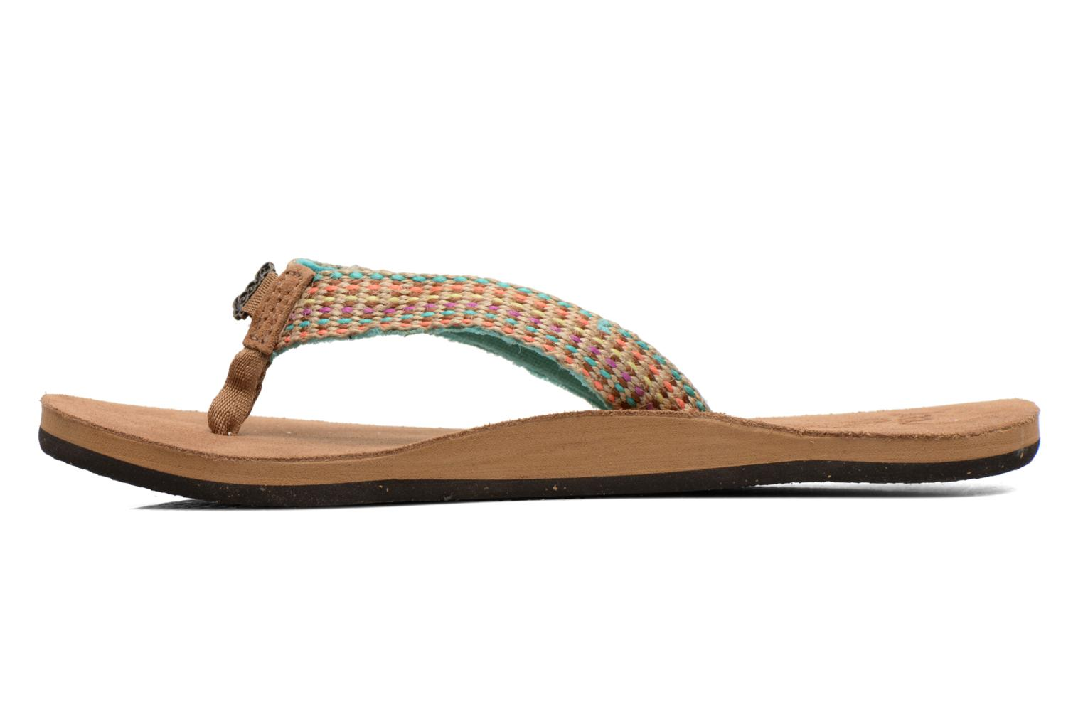 Tongs Reef Gypsylove Multicolore vue face