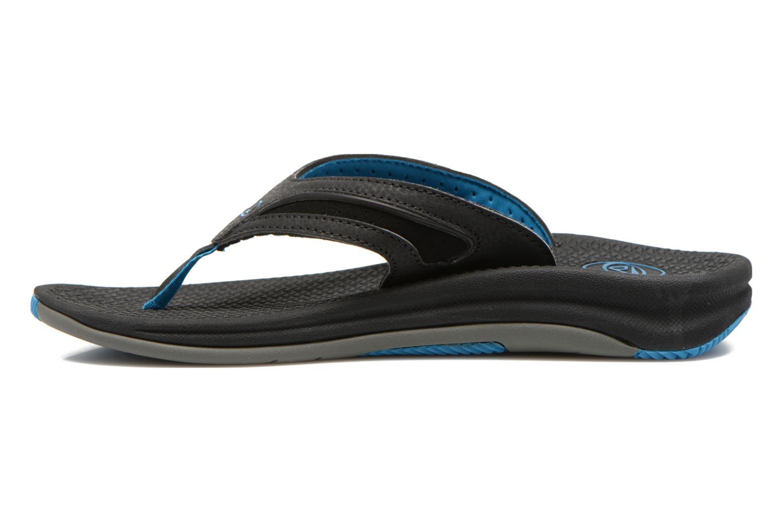 Slippers Reef Flex Zwart voorkant