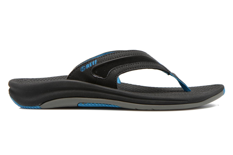 Slippers Reef Flex Zwart achterkant