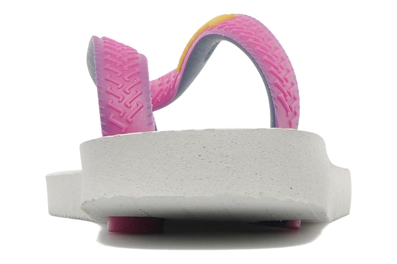 Top Mix White pink