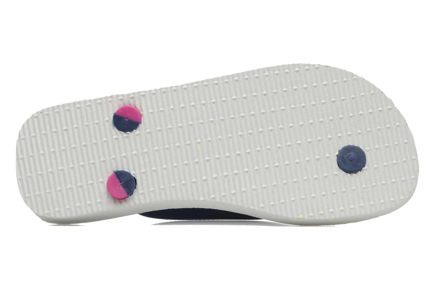Tongs Havaianas Top Mix Blanc vue haut