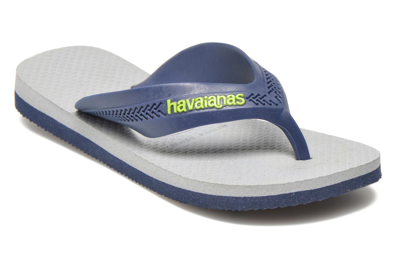 Tongs Havaianas Kids Max Gris vue détail/paire