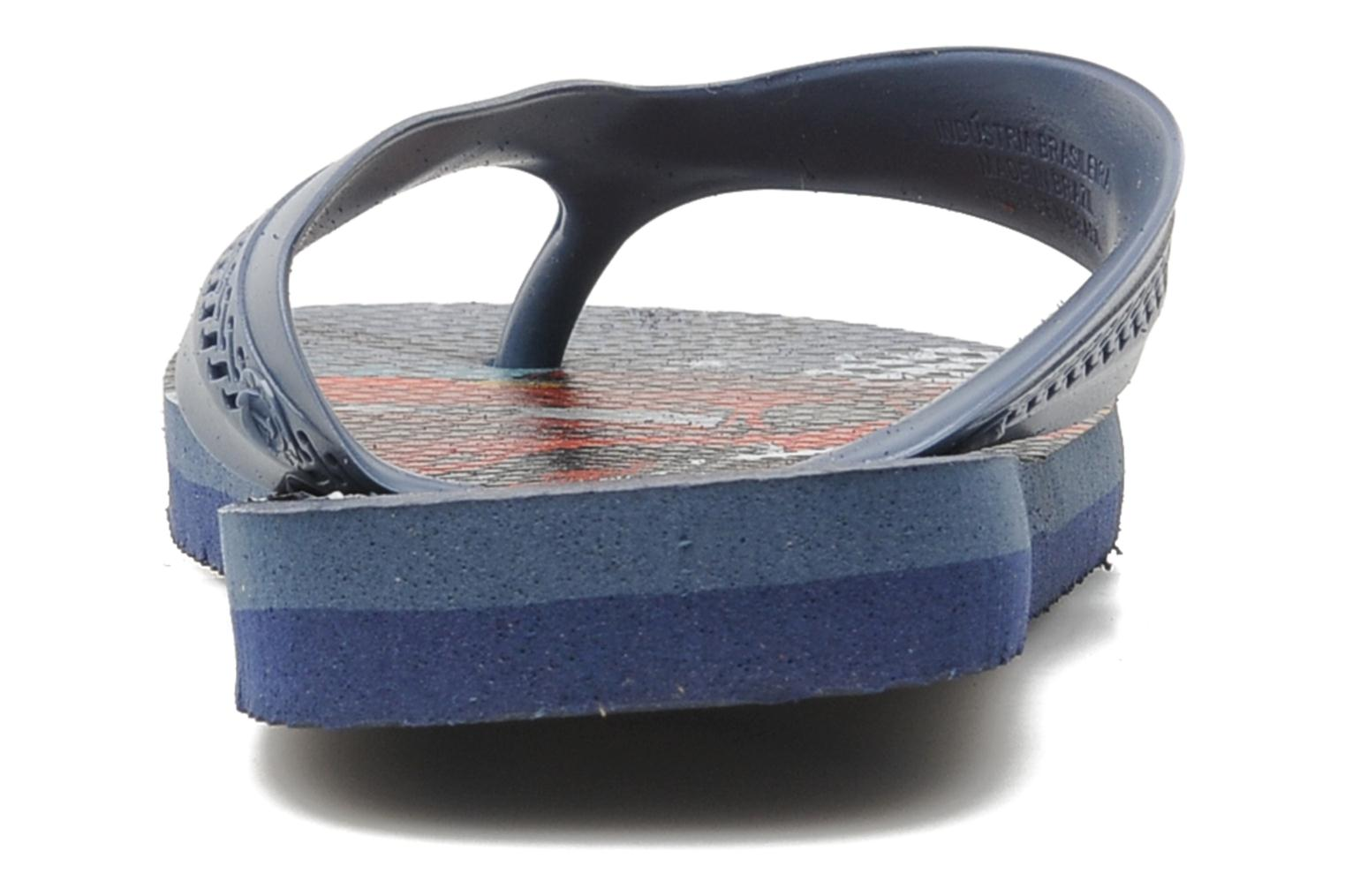 Flip flops Havaianas Kids Max Cars Blue view from the right