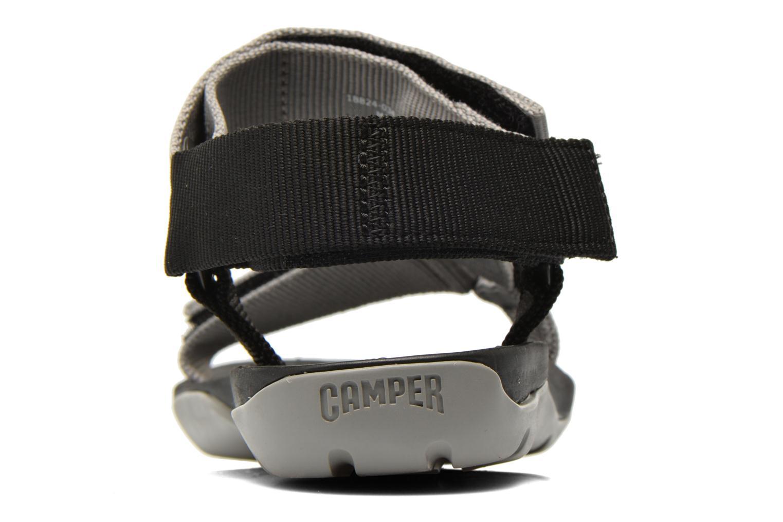 Sandales et nu-pieds Camper Match 18824 Gris vue droite