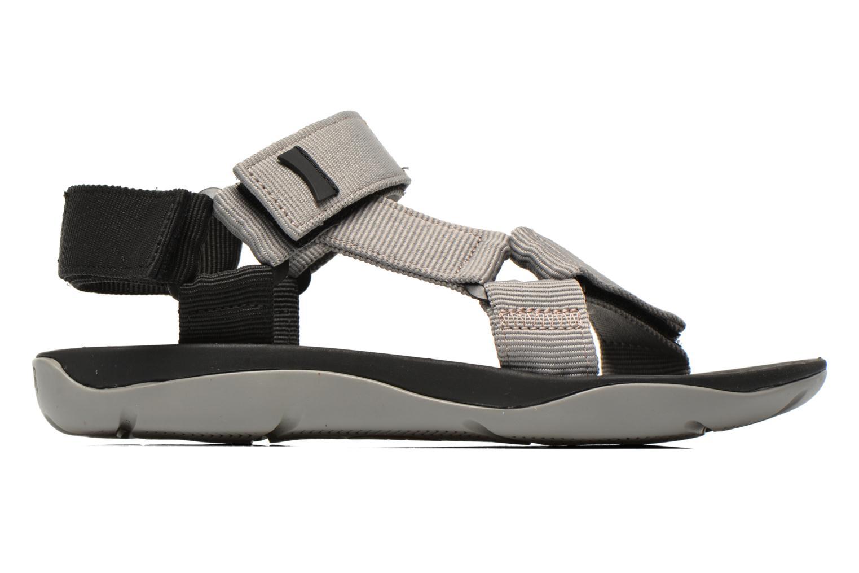 Sandales et nu-pieds Camper Match 18824 Gris vue derrière