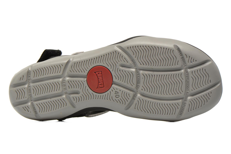 Sandales et nu-pieds Camper Match 18824 Gris vue haut