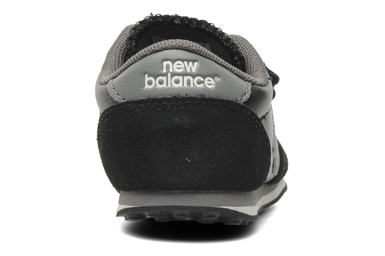 Baskets New Balance KE410BCI-M Noir vue droite
