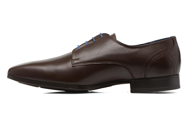 Zapatos con cordones Azzaro Anglin Marrón vista de frente