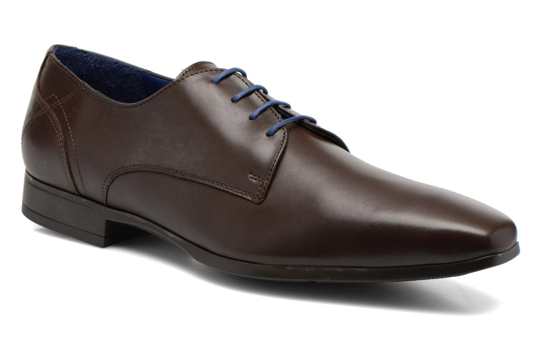 Zapatos con cordones Azzaro Anglin Marrón vista de detalle / par