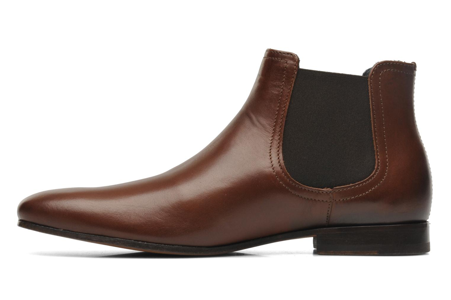 Ankle boots Azzaro Item Brown front view