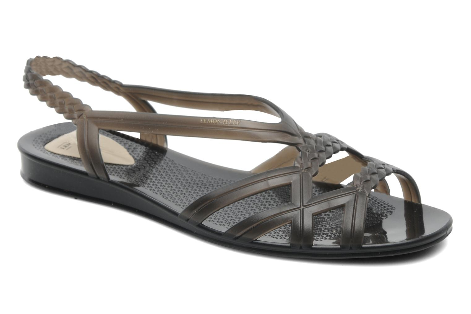 Sandalen Lemon Jelly Mint Zwart detail