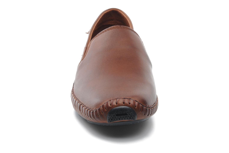 Mocassins Pikolinos Jerez 09Z-5511 Marron vue portées chaussures
