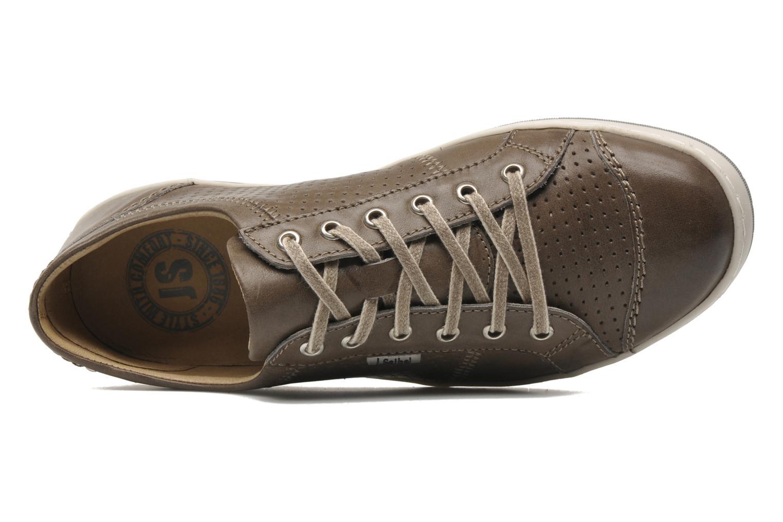 Sneaker Josef Seibel Gateo 01 braun ansicht von links
