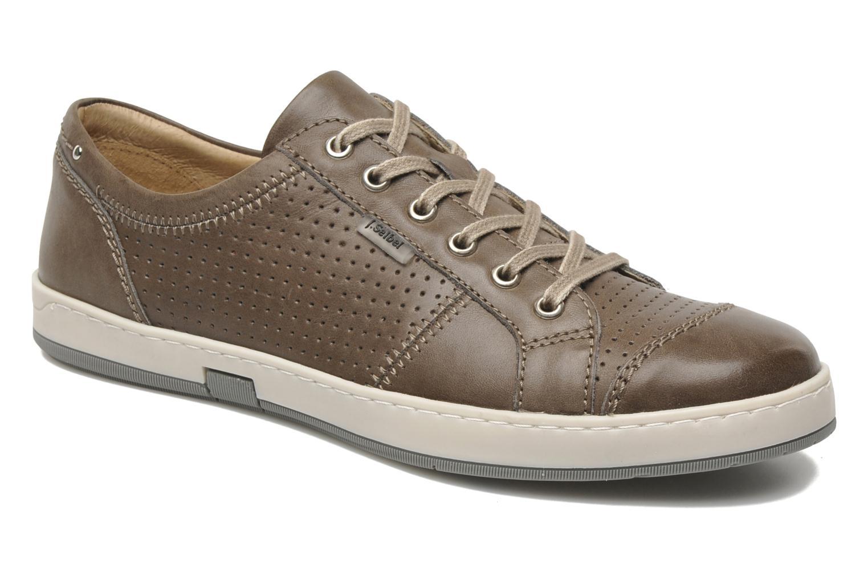 Sneakers Josef Seibel Gateo 01 Bruin detail