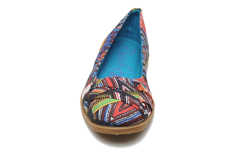 Ballerines Blowfish Glo Multicolore vue portées chaussures